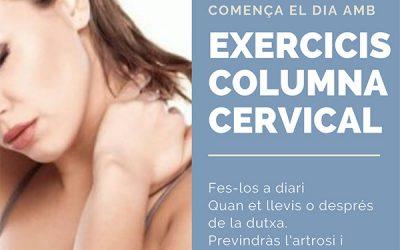 Comença el dia amb exercicis de columna cervical